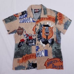 Harley-Davidson | Kid's Hawaiian Shirt Size 6